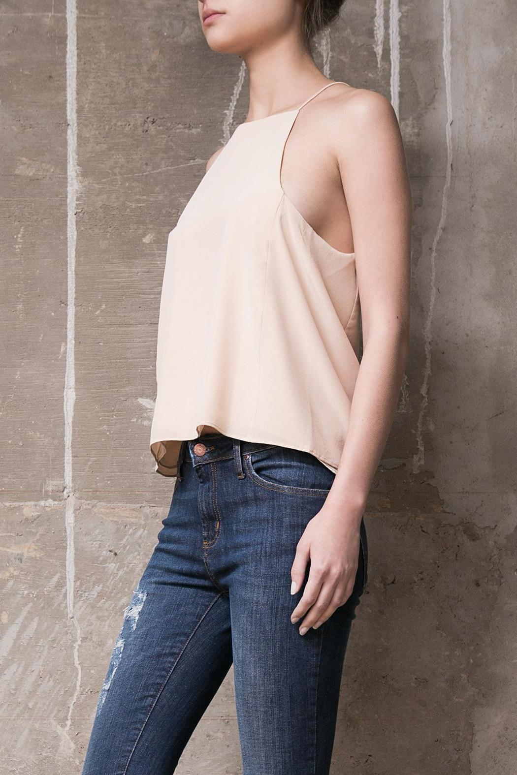 Atelier B.A. Marfil Silk Top - Front Full Image