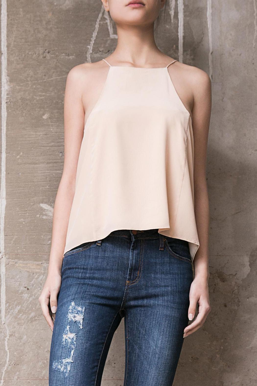 Atelier B.A. Marfil Silk Top - Front Cropped Image