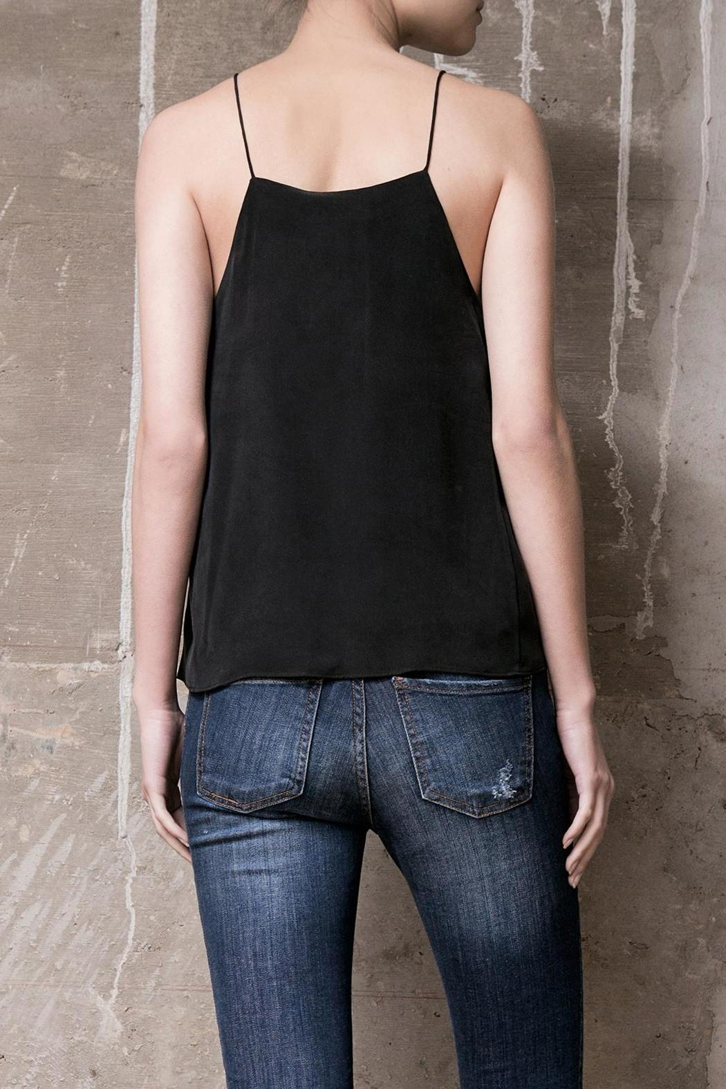 Atelier B.A. Marfil Silk Top - Side Cropped Image