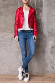 Atelier B.A. Montse Red Jacket - Front cropped