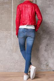 Atelier B.A. Montse Red Jacket - Back cropped