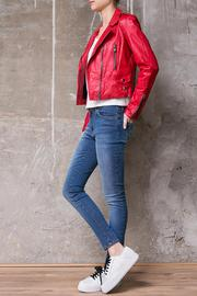Atelier B.A. Montse Red Jacket - Side cropped