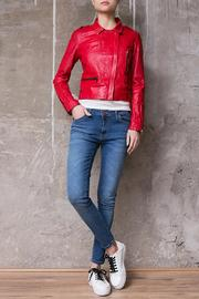 Atelier B.A. Montse Red Jacket - Front full body