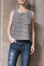 Atelier B.A. Sofia Stripe Top - Front cropped