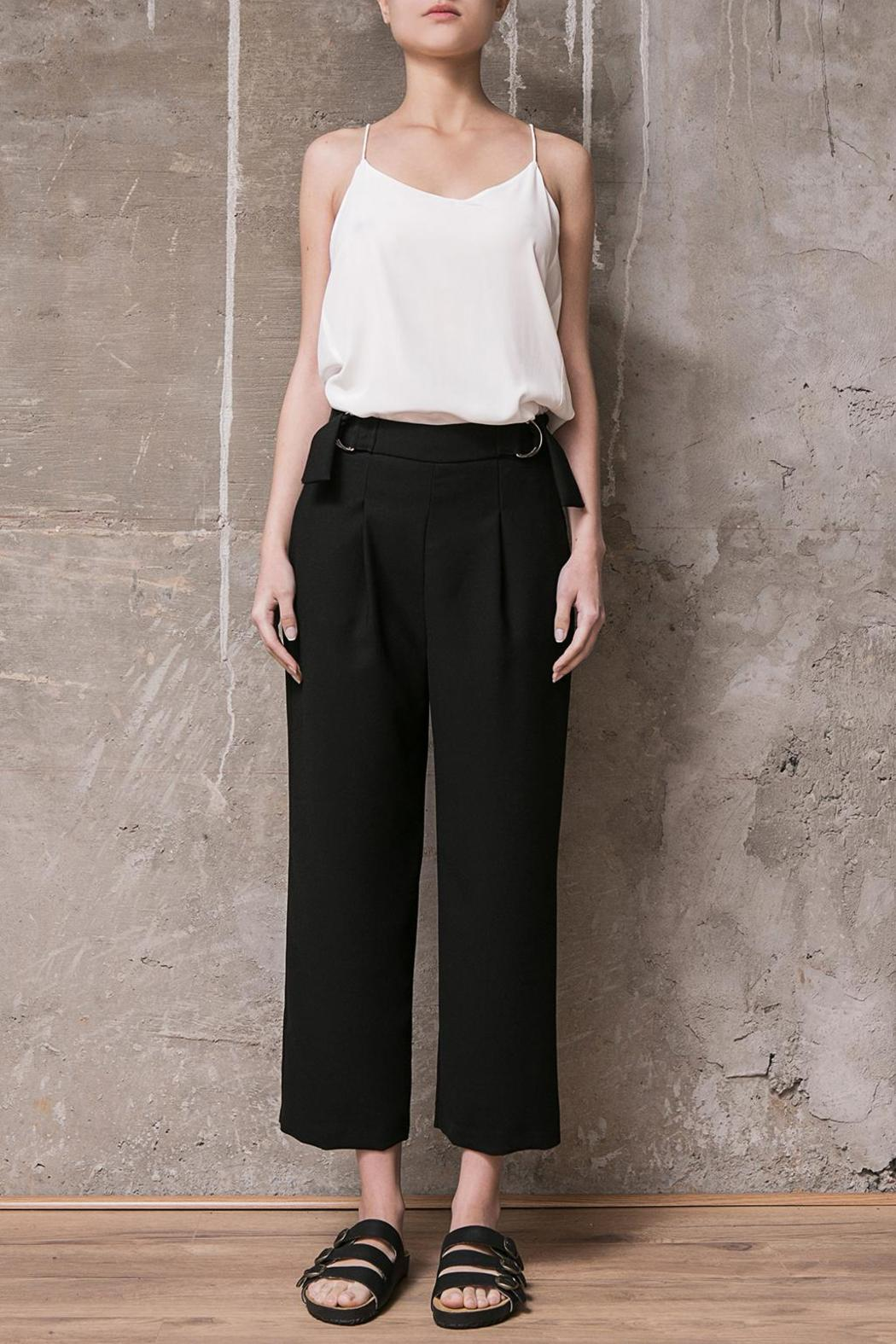 Atelier B.A. Thames Crop Pant - Front Cropped Image