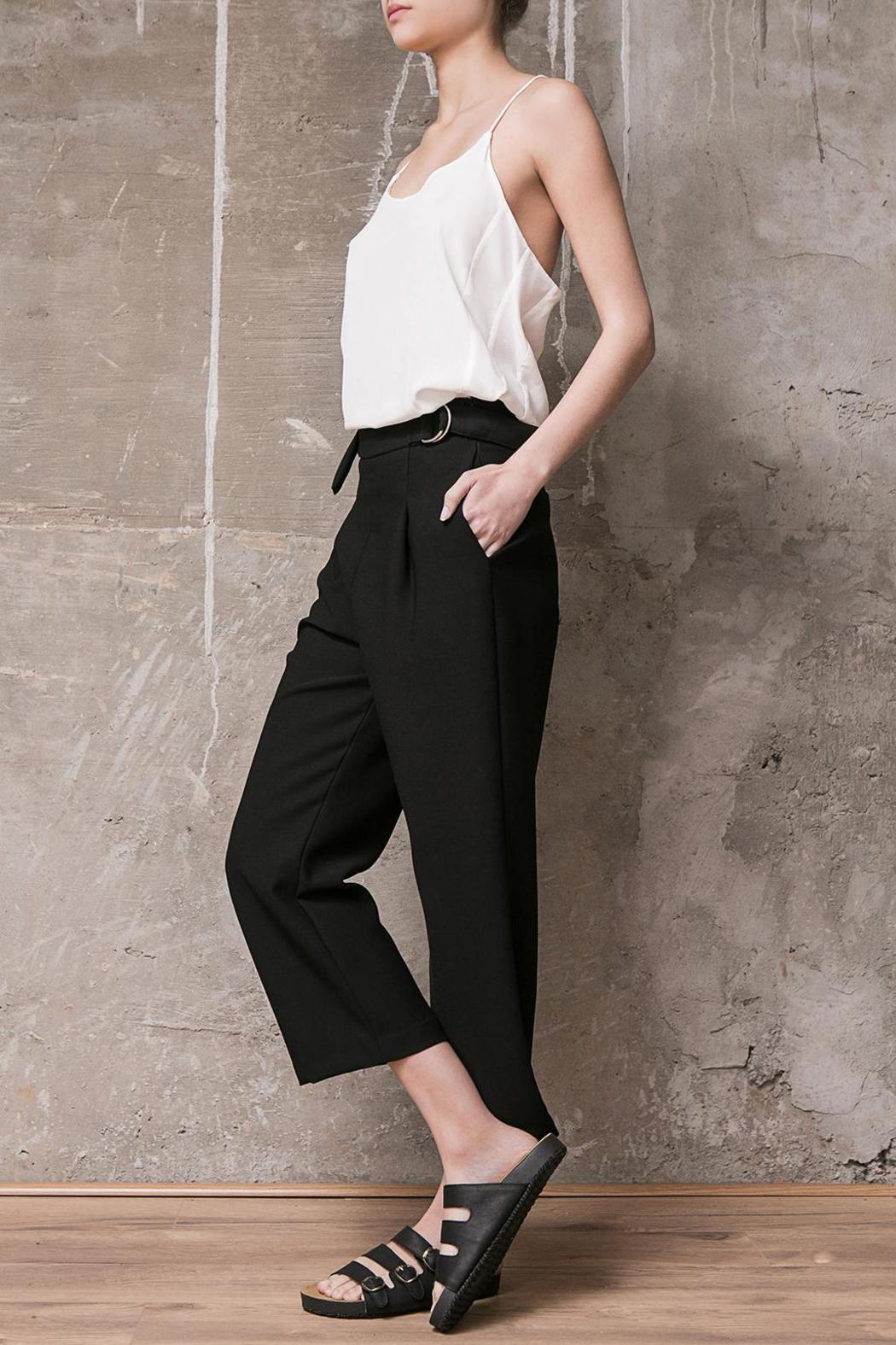 Atelier B.A. Thames Crop Pant - Front Full Image