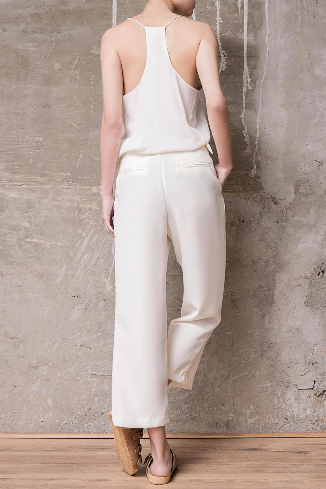 Atelier B.A. Thames Crop Pant - Side Cropped Image