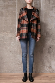 Atelier B.A. Wood Coat Jaspe - Front cropped
