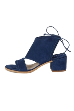 Ateliers  Blue Suede Heel - Product List Image
