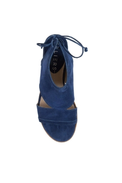 Ateliers  Blue Suede Heel - Alternate List Image