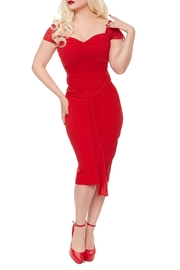 Rebel Love Clothing Athena Wiggle Dress - Front cropped