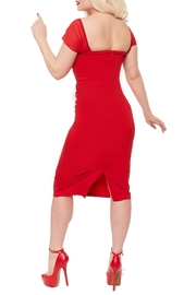 Rebel Love Clothing Athena Wiggle Dress - Front full body