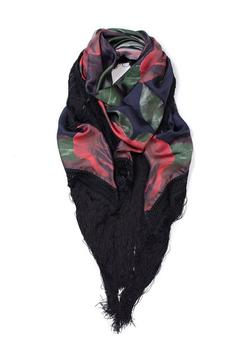 Shoptiques Product: Black Fringe Shawl