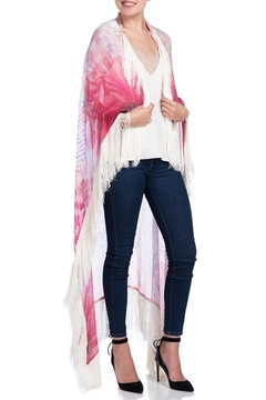 Shoptiques Product: Silk Fringe Shawl