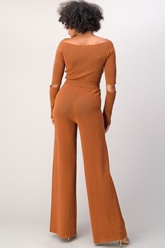 Athina Knit Wide Leg Pants Set - Alternate List Image