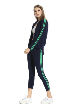 Julie Brown NYC Athleisure Front Zip Jacket - Product List Image