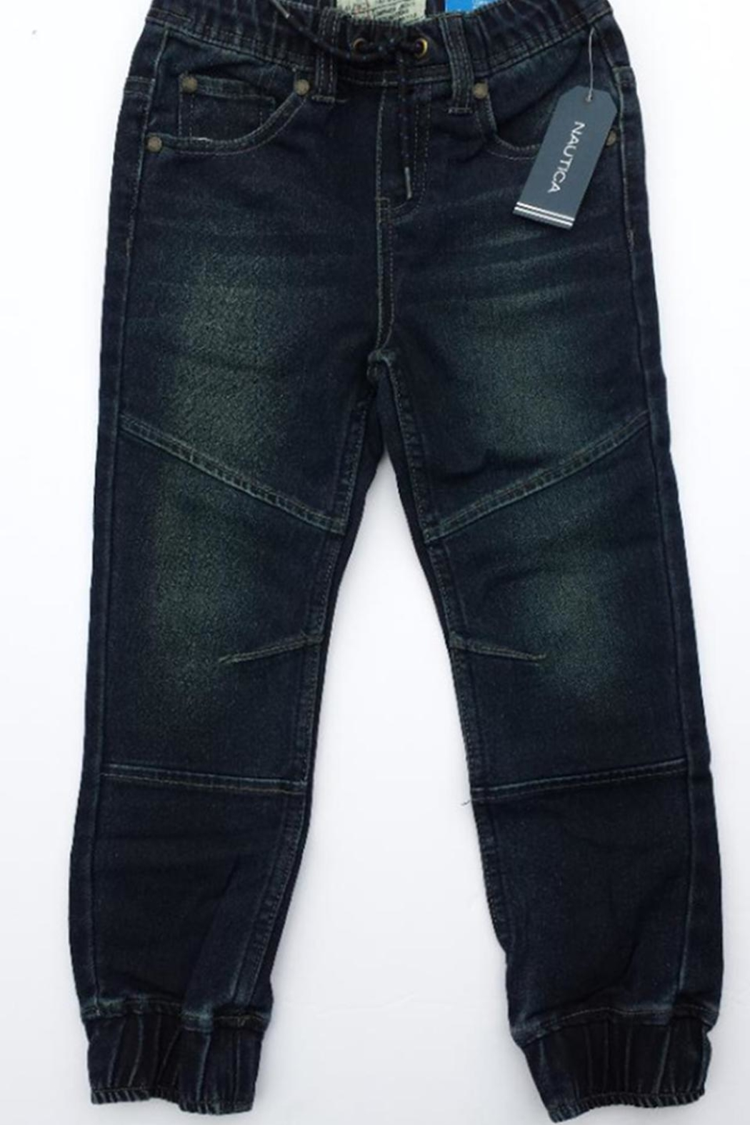 Nautica Athletic Denim Jogger - Front Cropped Image