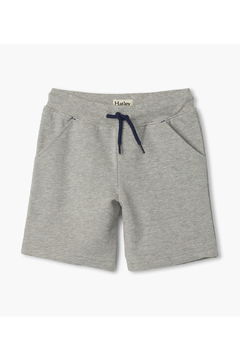 Tea Collection  Athletic Grey Terry Shorts - Alternate List Image