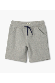Tea Collection  Athletic Grey Terry Shorts - Product Mini Image