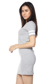 Ambiance Athletic Stripe Dress - Side cropped