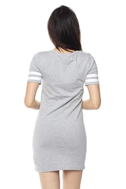 Ambiance Athletic Stripe Dress - Front full body