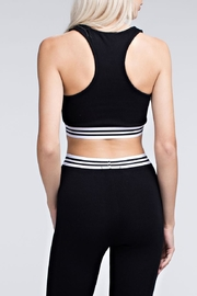 Wild Honey Athletic Striped Bra - Side cropped