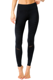 Savoy Active Athletique Low Waisted Ribbed Leggings - Product Mini Image