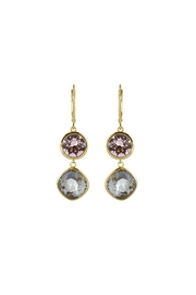 Athra Accented Crystal Earrings - Product Mini Image