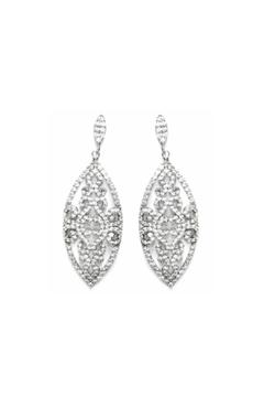 Shoptiques Product: Marquise Filigree Earrings