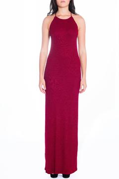 Shoptiques Product: Red Ribbed Maxi