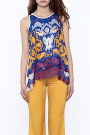 Atina Cristina Adore Top Print - Side cropped