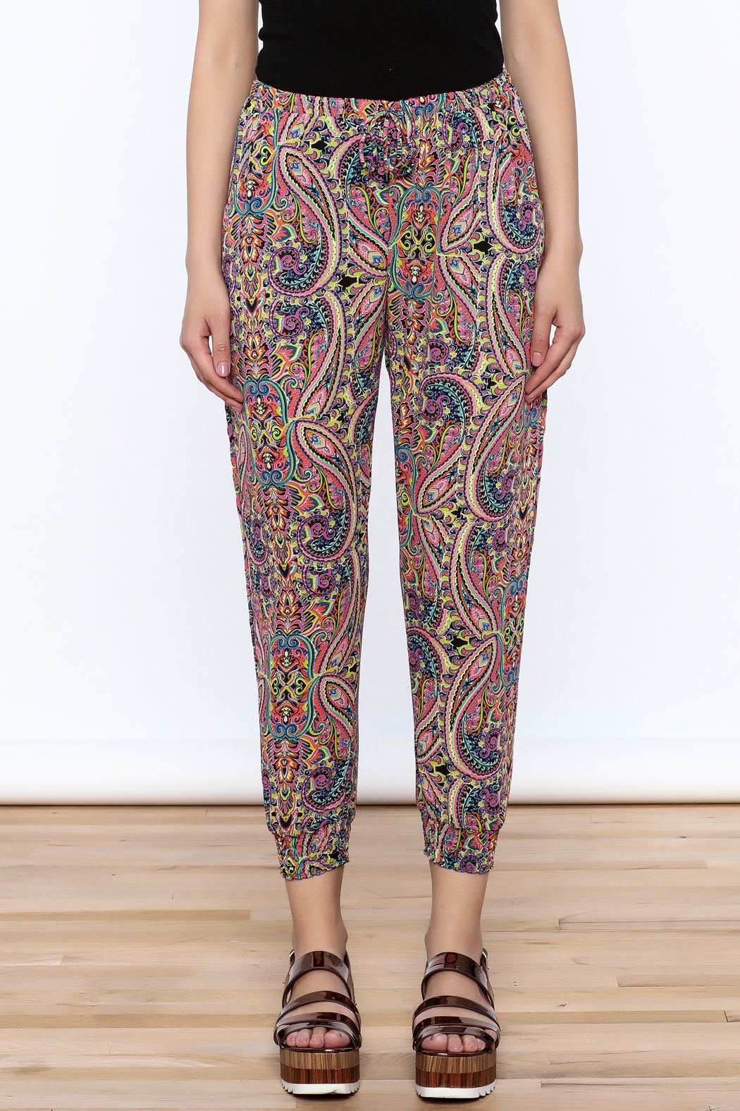 Atina Cristina Bella Jogger Pants - Side Cropped Image