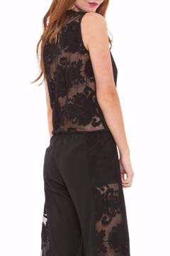 Shoptiques Product: Black Lace Jumpsuit
