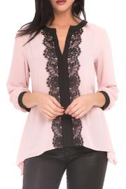 Atina Cristina Isabella Center Lace Top - Product Mini Image