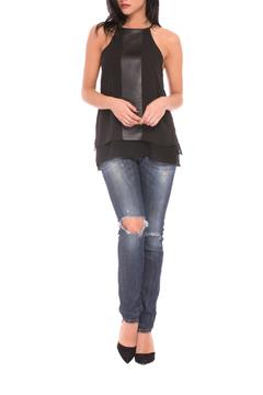 Shoptiques Product: Melissa Pleather Top