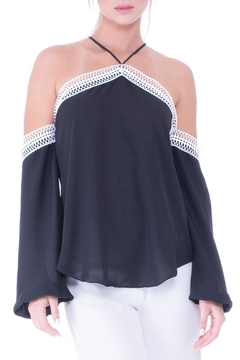 Shoptiques Product: Olivia Cold Shoulder Top
