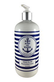 Soap and Water Newport ATLANTIC SEA SALT HAND/BODY LOTION - Product Mini Image
