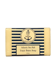 Soap and Water Newport Atlanticseasalt Bar Soap - Front cropped