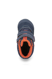 See Kai Run Atlas Waterproof Insulated Boot - Navy/Red - Front full body