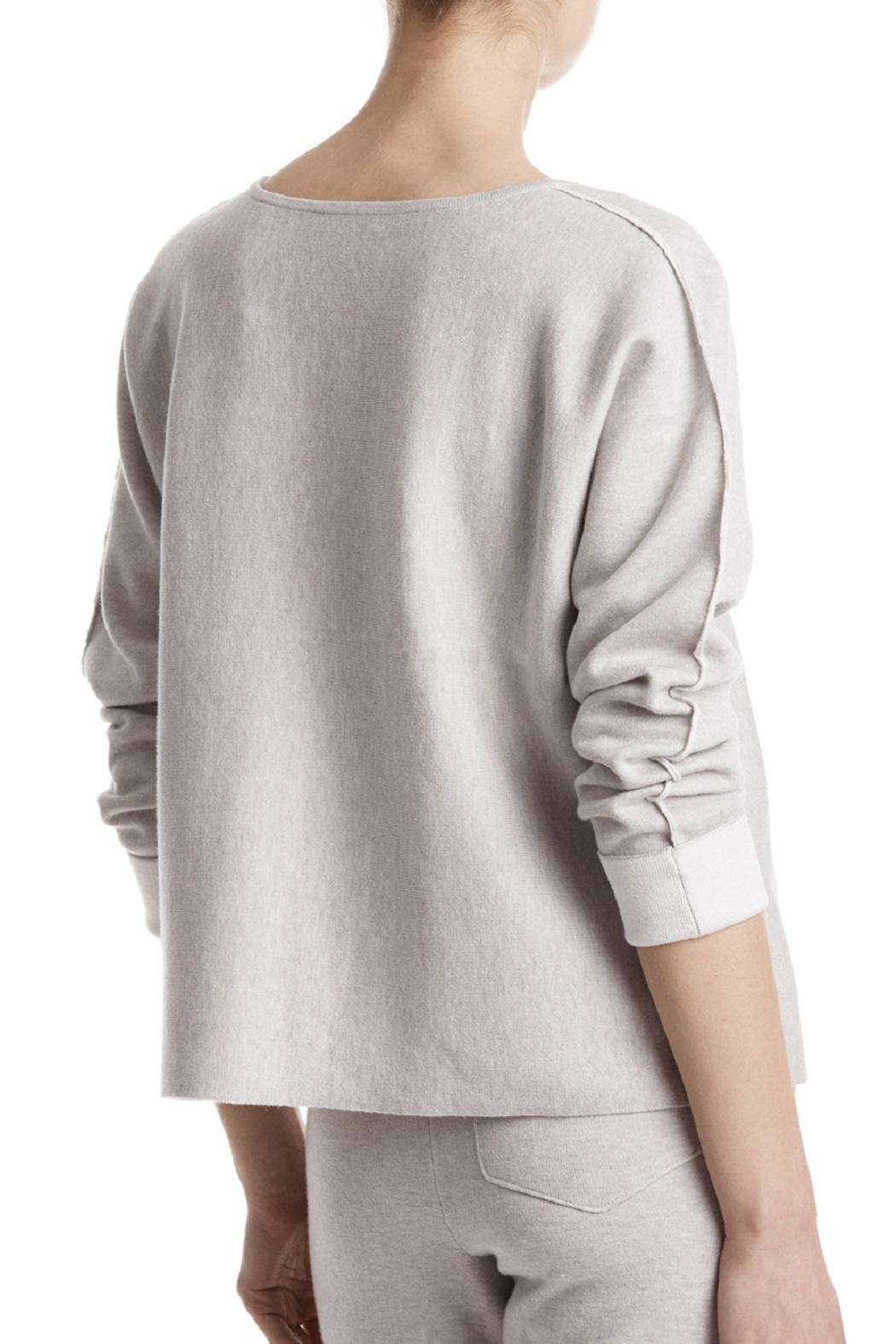 ATM Anthony Thomas Melillo Contrast Plated Pullover - Front Full Image