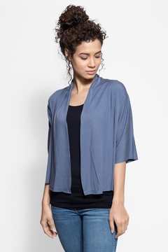 AtoZ Elbow Sleeve Cardigan - Product List Image