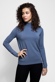 AtoZ Mock Neck Top - Front cropped
