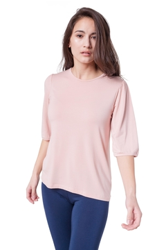 AtoZ Puffy Shoulder Top - Product List Image
