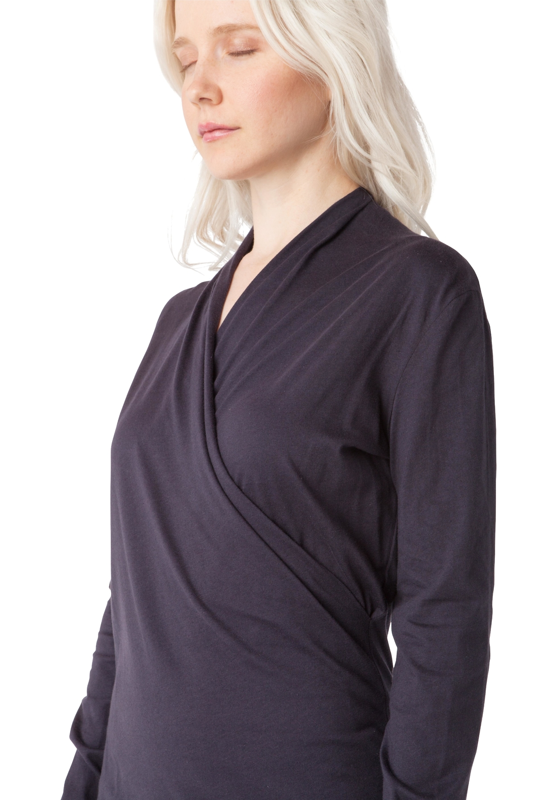 AtoZ Wrap Top - Side Cropped Image