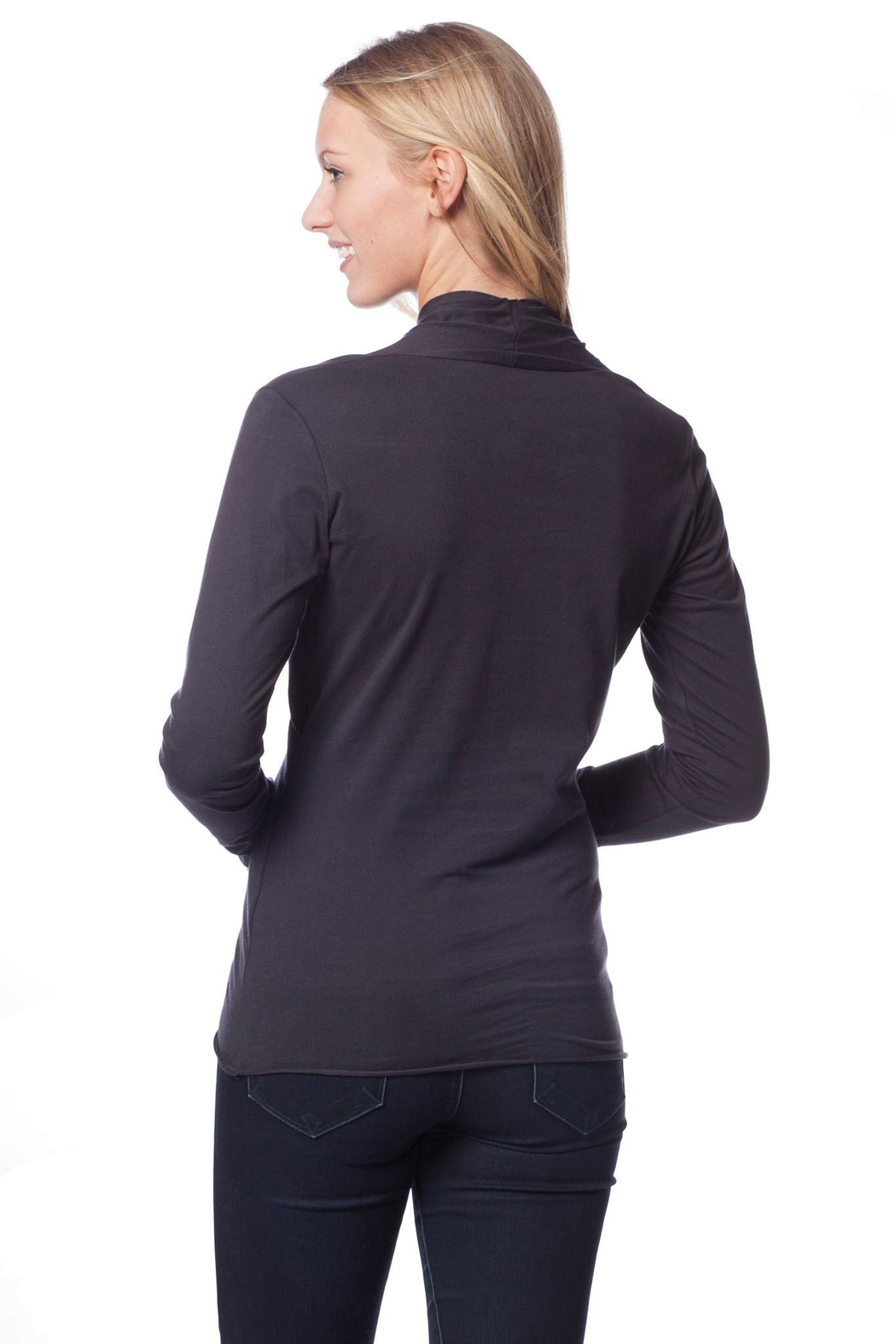 AtoZ Wrap Top - Front Full Image