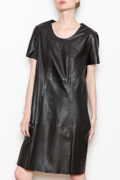 Attention Leather Dress - Product List Image