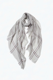 Attire Management Metallic Plaid Scarf - Product Mini Image