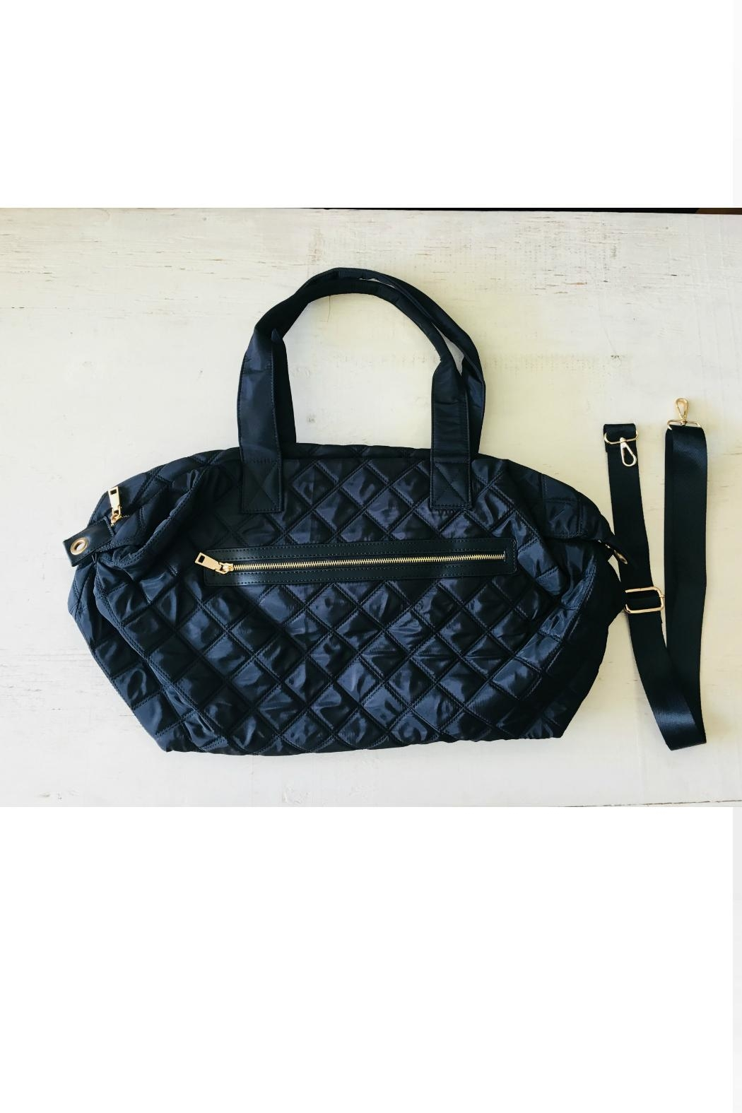 Attire Management Quilted Weekender Bag From California By Attire