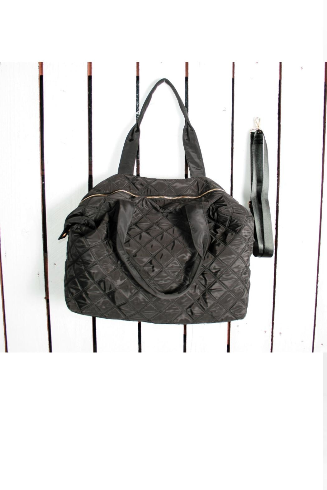 Attire Management Quilted Weekender Bag - Main Image