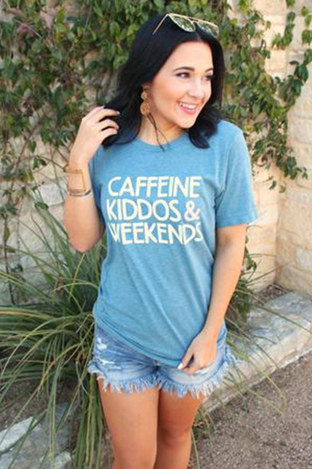 ATX MAFIA Caffeine Kiddos Weekends - Front Cropped Image